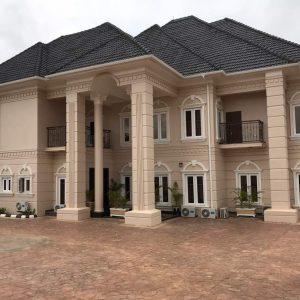 Design & Builing - 5Bedroom Mansion Kado Jahi District Abuja 2018 - 1