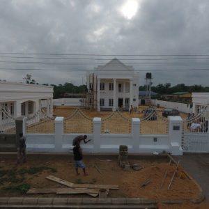 Designed & Construction -Country Home Adagbabi Bayelsa State 2018 - 2